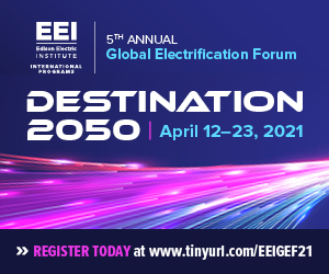 EEI Global Electrification Forum
