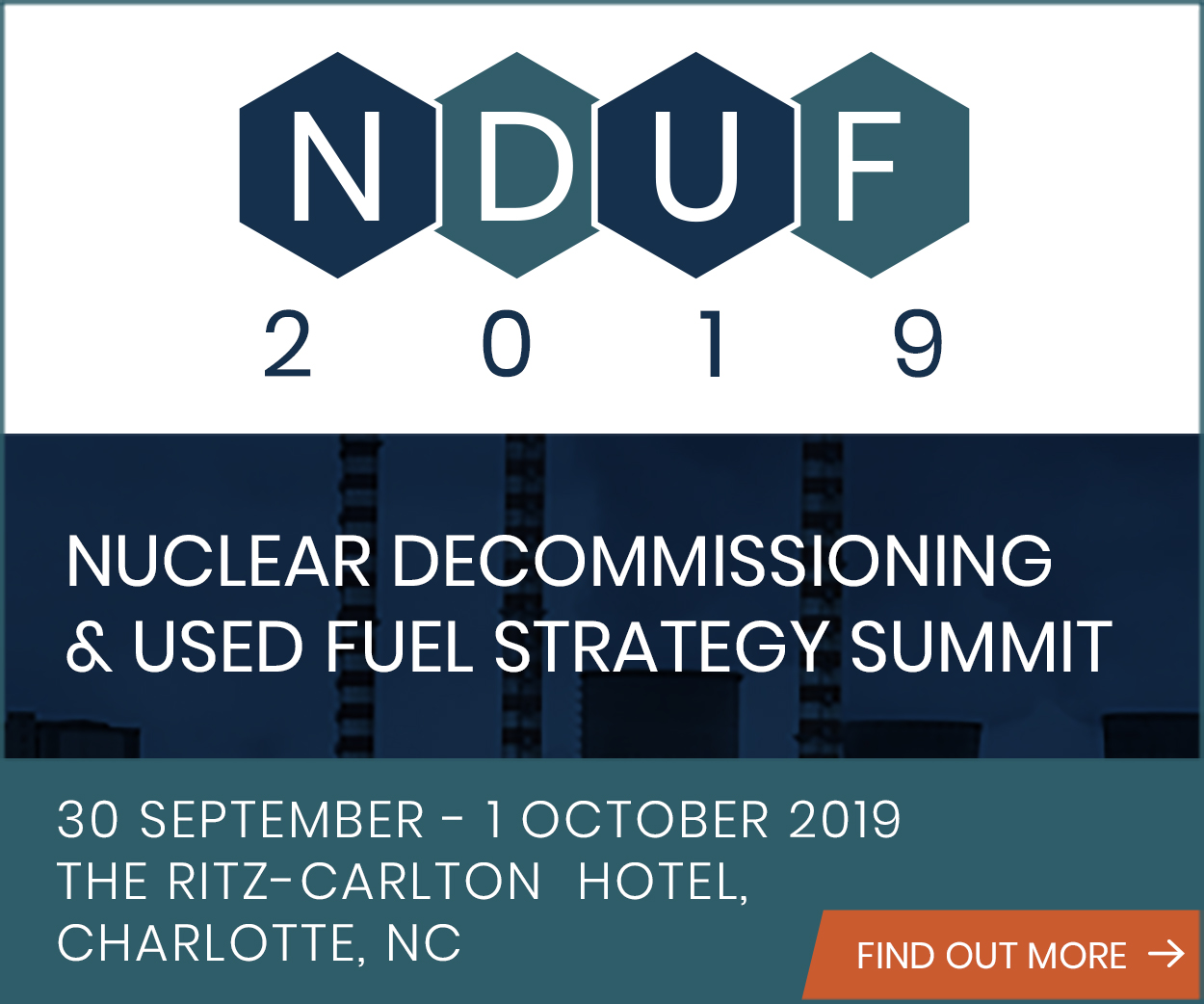 Nuclear Decommissioning & Used Fuel Strategy Summit 2019