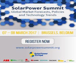 solar power europe summit 2017