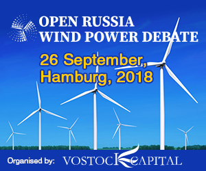 Vostock Capital Wind Power Russia 2018