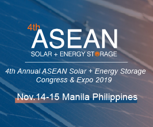 4th ASEAN solar and energy storage congress and expo 2019